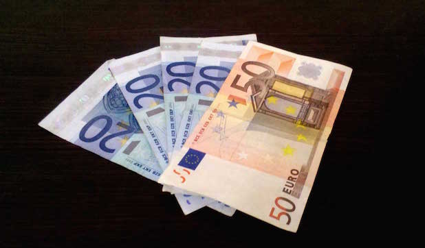 pay transfers in euros
