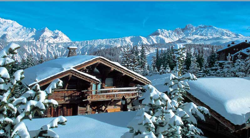 ski holiday chalet
